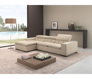 SOFA BED RAVEL LEATHER ITALY